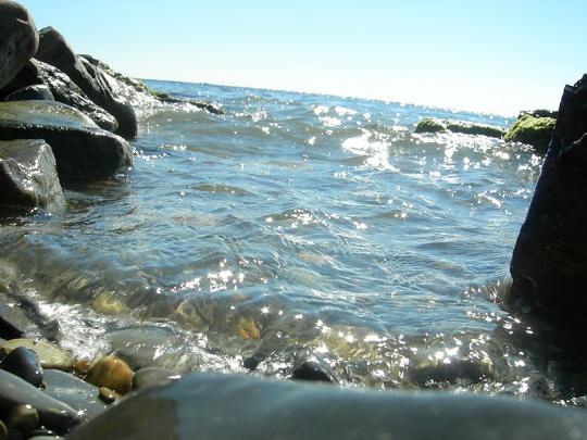 Черное море в Анапе.