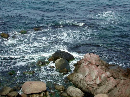 Чёрное и Азовское море.